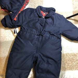 Manudieci Made in Italy snowsuit down padding